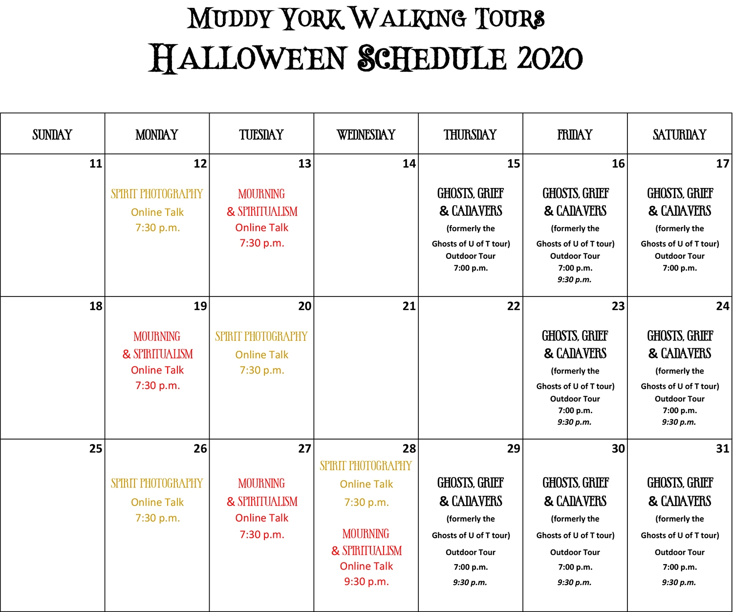 October_2020_Halloween_Schedule