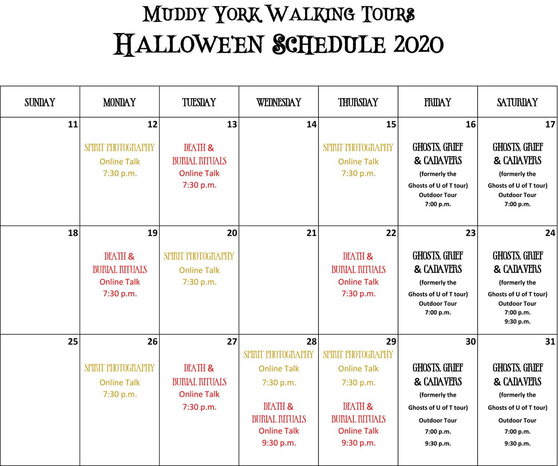 October_2020_Halloween_Schedule